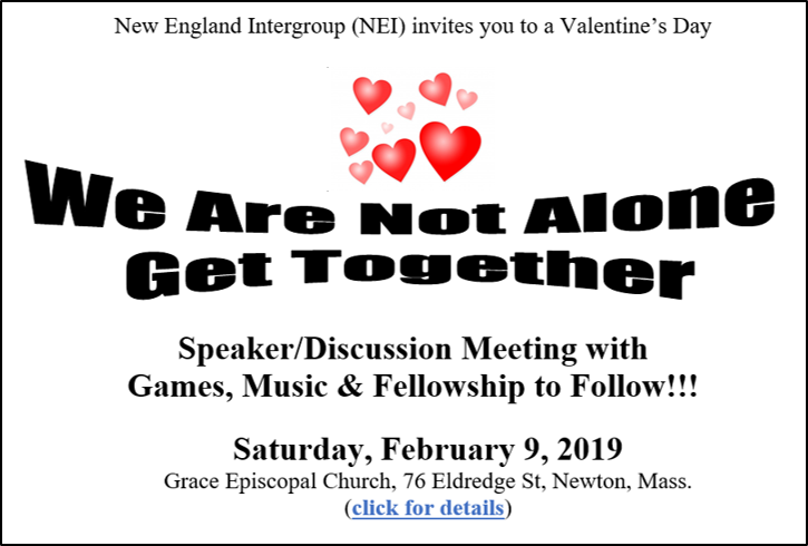 Valentines Day get together 2-9-2019